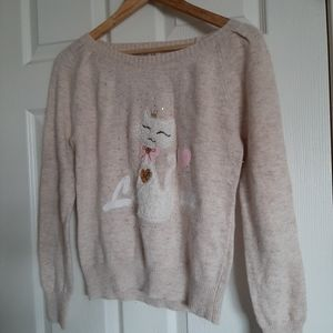 Sweaters - 3/$30--Cozy Cat Sweater